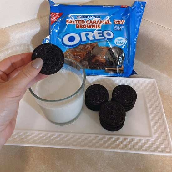 Oreo Salted Caramel Brownie Review