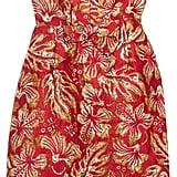 Prada Metallic Floral Dress