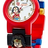 Lego DC Super Heroes Wonder Woman Kids Interchangeable Link Watch