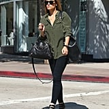 Lauren Conrad wore her sunglasses for a day out in LA.