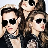 Sleek sunglasses for Just Cavalli Spring '12. Source: Fashion Gone Rogue