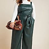 Samira Faux Leather Jumpsuit