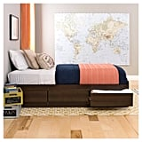 Three Drawer Platform Storage Bed