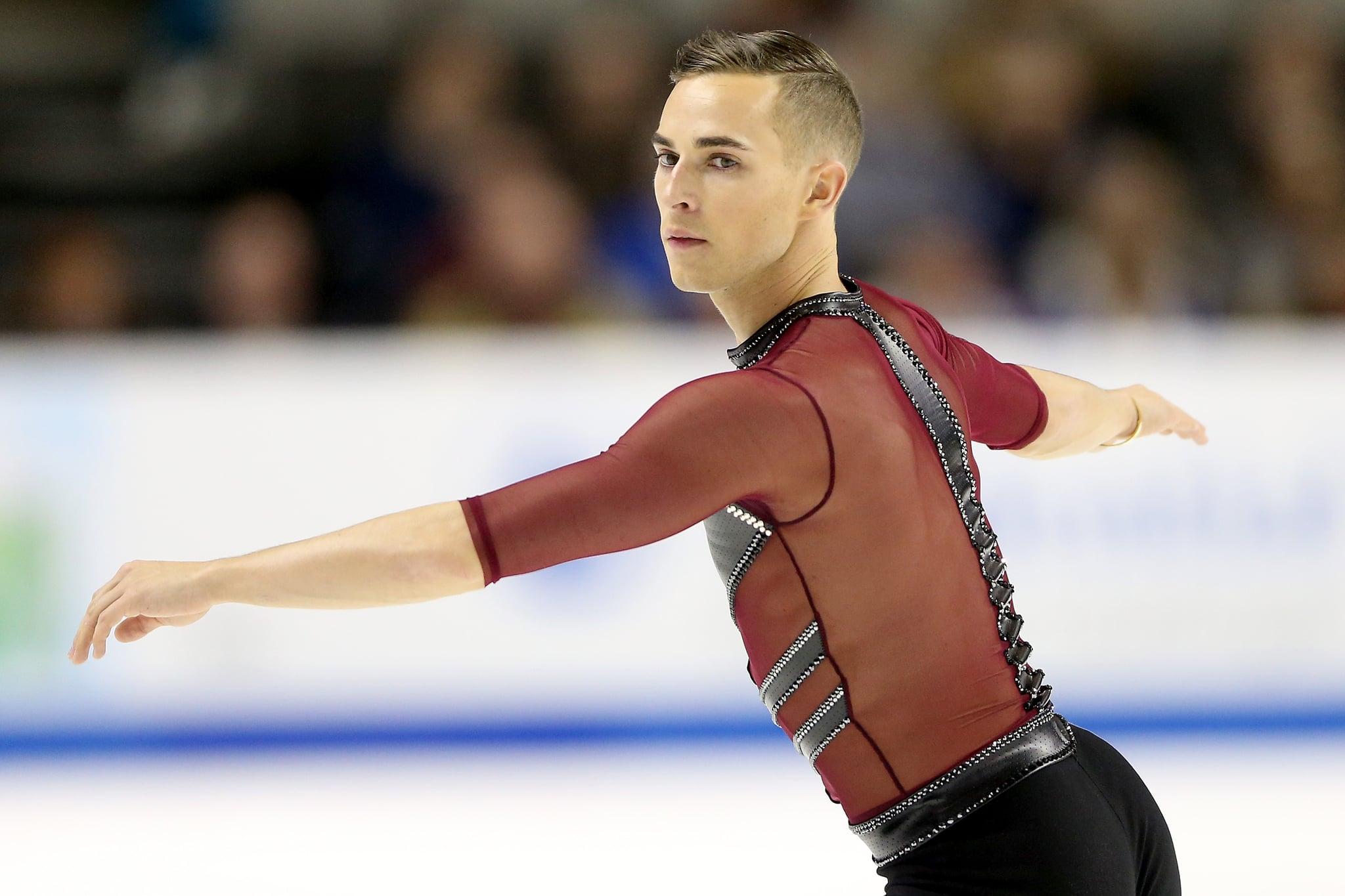Out Figure Skater Adam Rippon Chosen to Compete in Winter Olympics