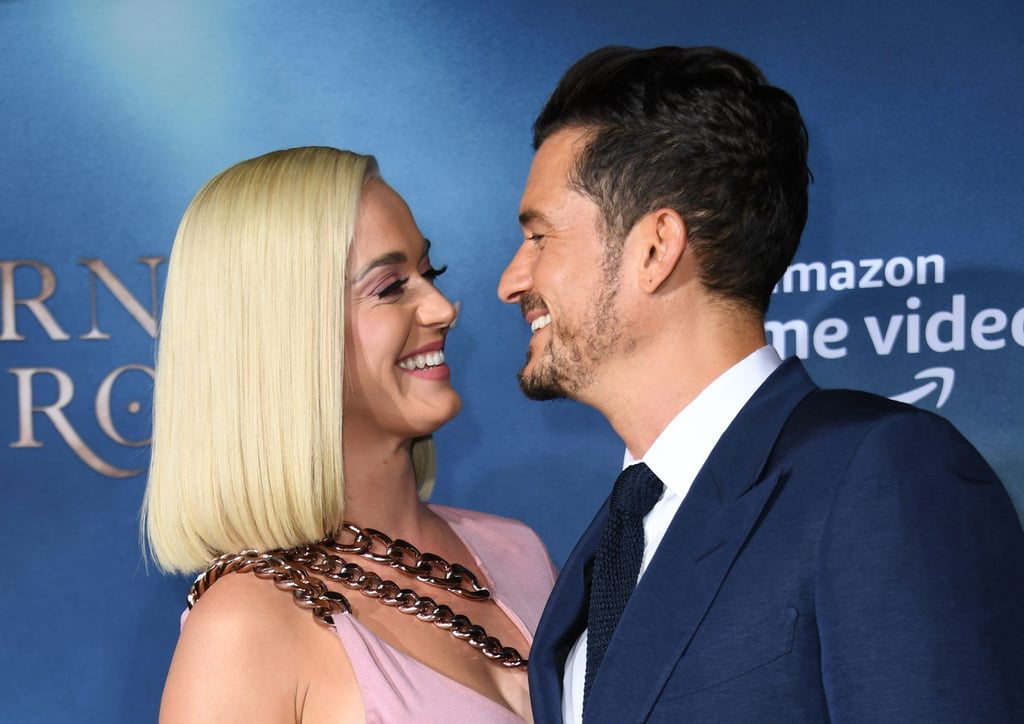 August 2019: Katy Supports Orlando at His TV Show Premiere