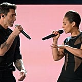 Maroon 5 and Alicia Keys