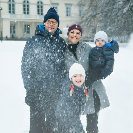 Swedish Royal Family's Christmas Card 2017