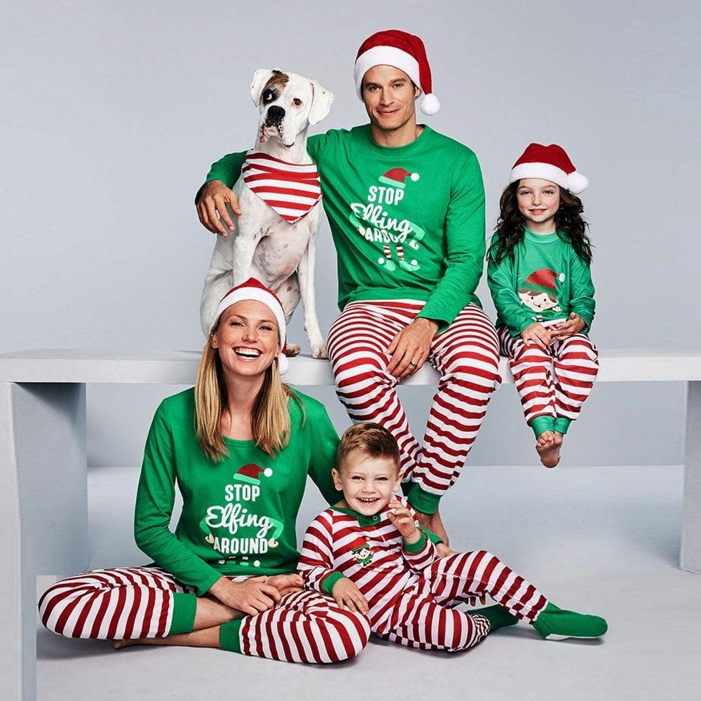 WensLTD Family Matching Pajamas
