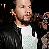 Mark Wahlberg in a clover t-shirt.