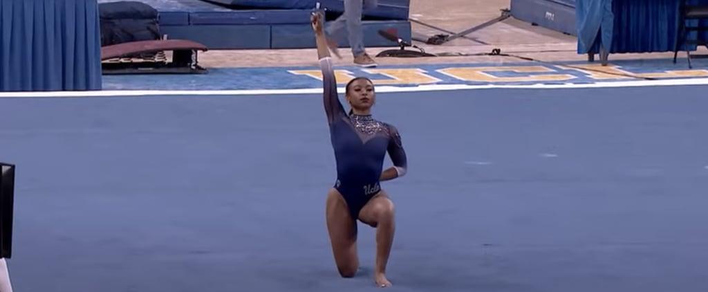 Nia Dennis's 2021 Floor Routine For UCLA Gymnastics