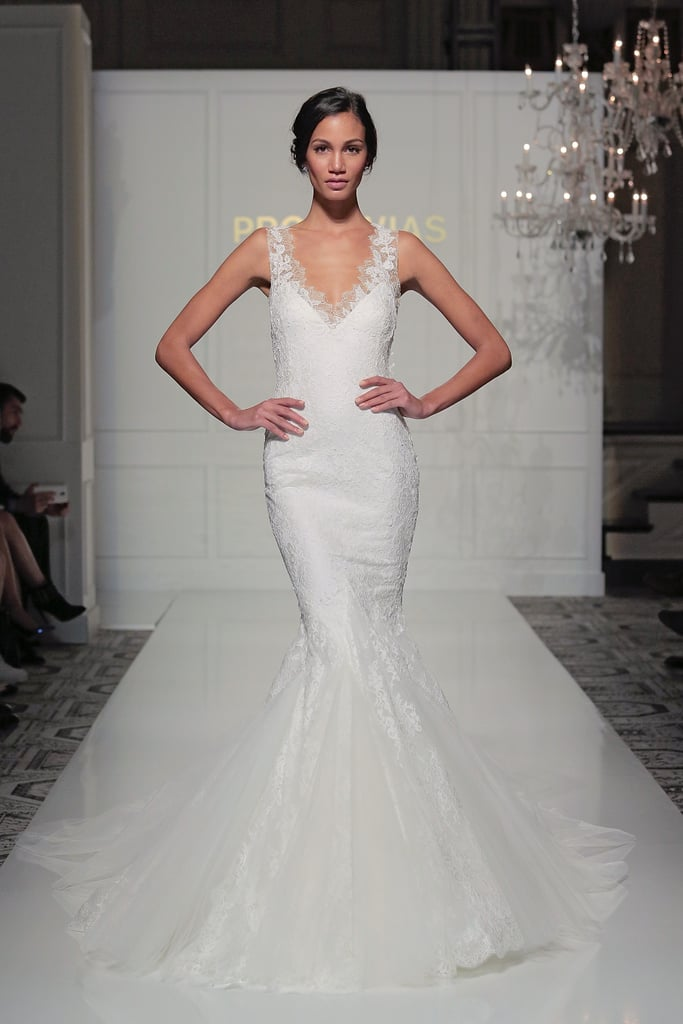 Mermaid & Trumpet Gowns From Bridal Fashion Week Winter 2016