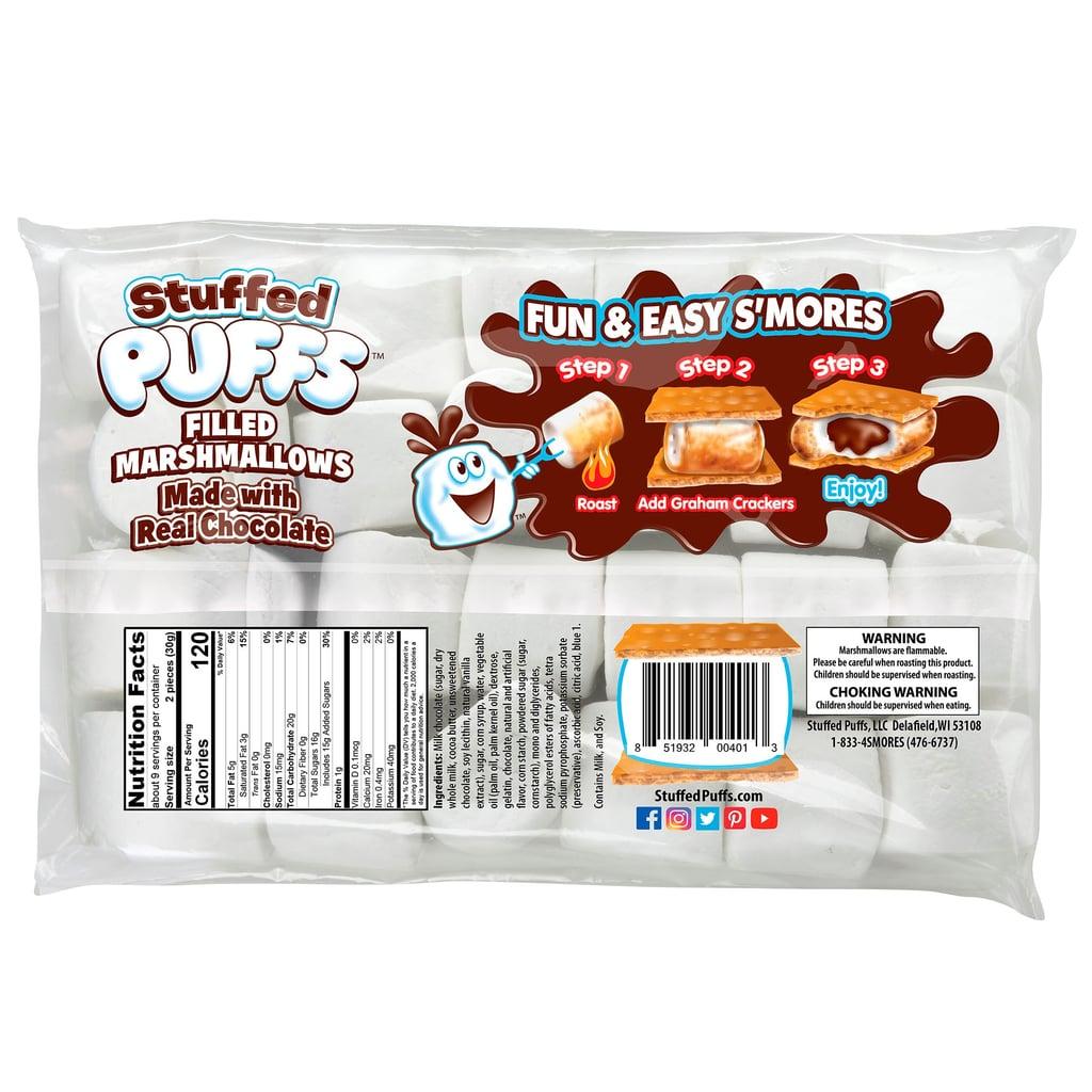 Stuffed Puffs Chocolate-Filled Marshmallows
