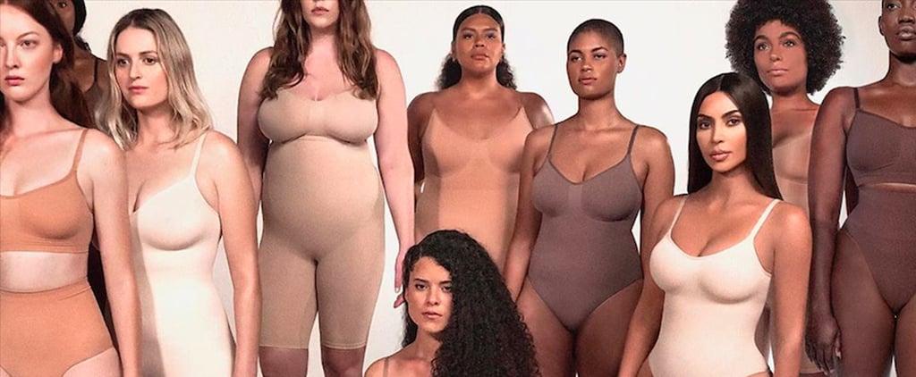 Kim Kardashian's Skims Shapewear Line Restocks New Pieces