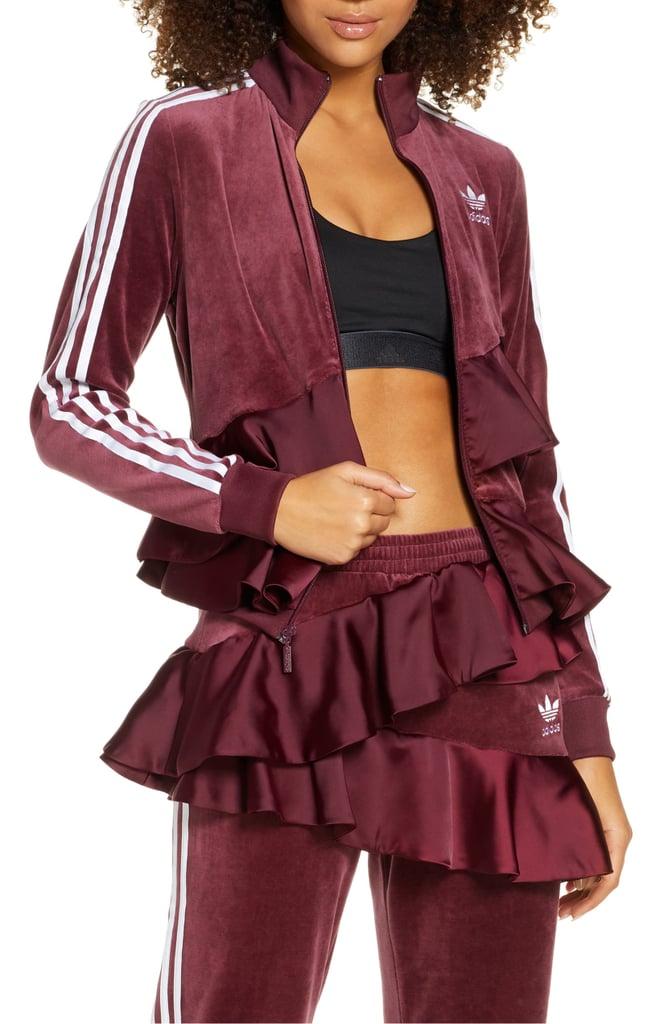 Adidas Originals Ruffle Track Jacket and Ruffle Track Pants