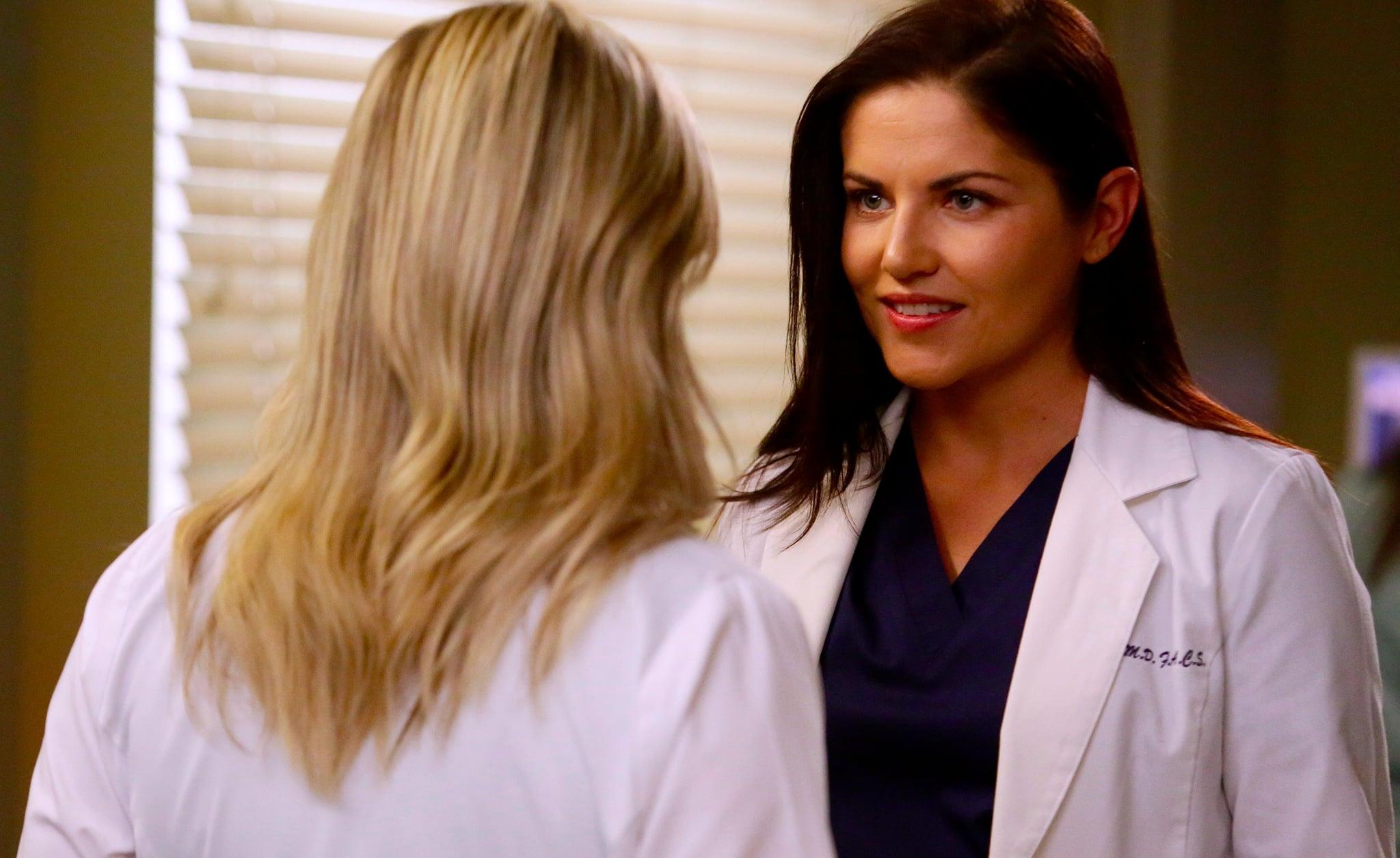 Jessica Capshaw on Her New Grey's Anatomy Love Interest
