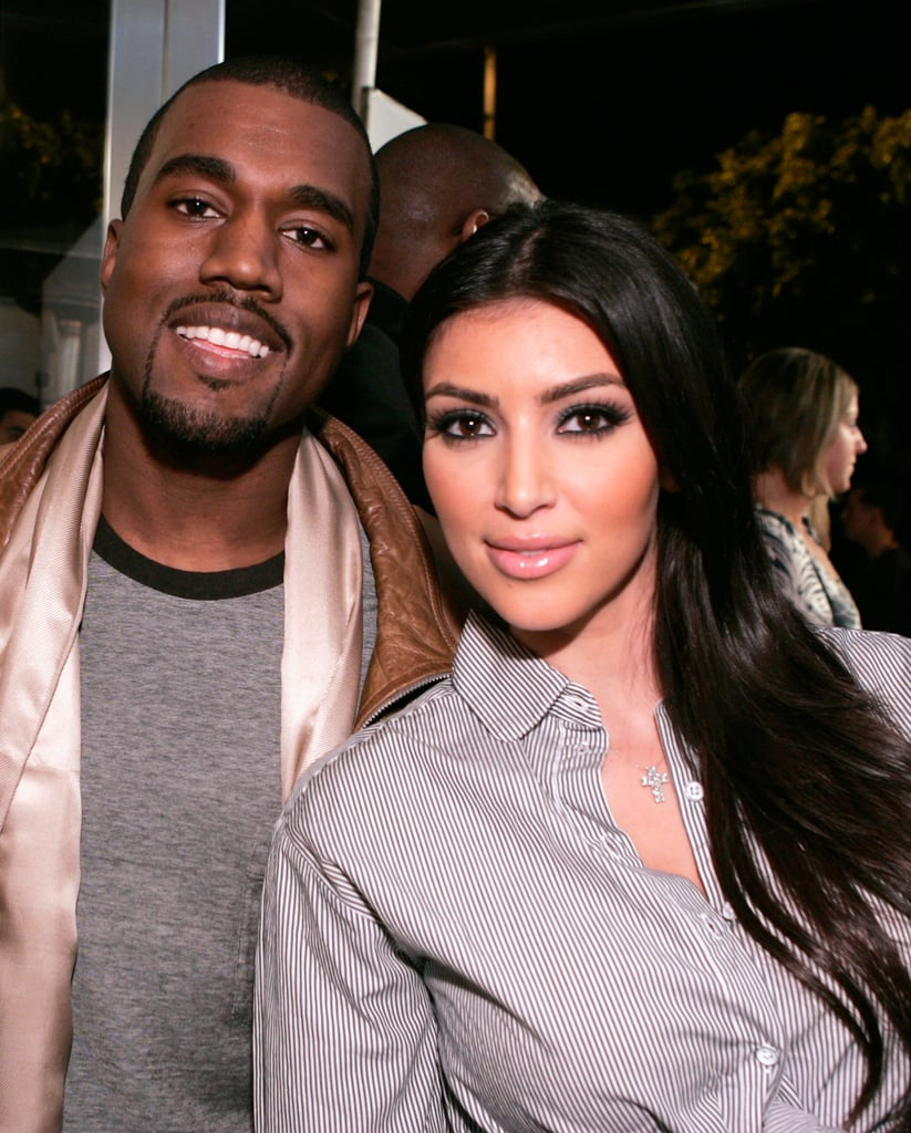 Talk about foreshadowing: Kim met up with her then-buddy Kanye West at the opening of Intermix's LA store in September 2007.