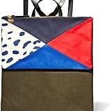 Clare Vivier Agnes Patchwork Canvas Backpack