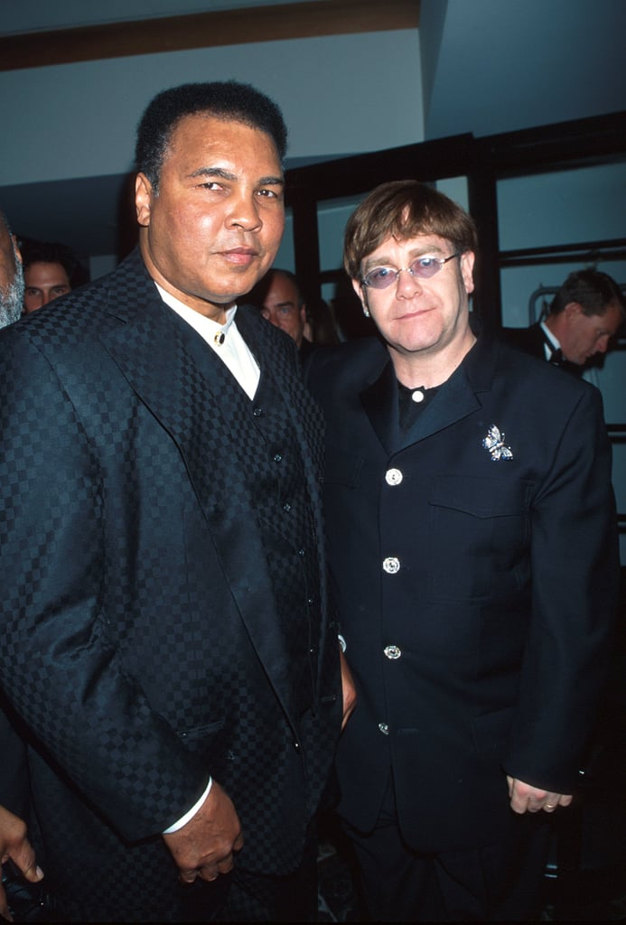 Elton John Hung Out With Muhammad Ali