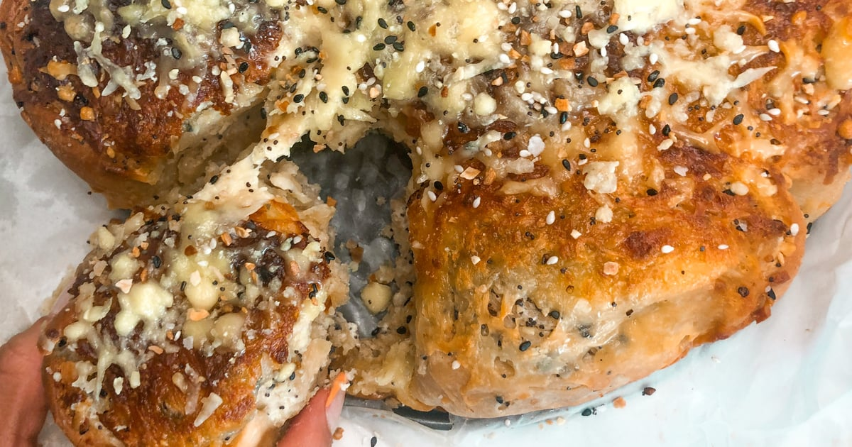 Everything Bagel Rolls Are Basically Savory Cinnamon Rolls, and I'm Obsessed