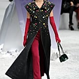 Miranda Kerr walked for Chanel in March 2012.