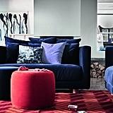 Sofa ($1299), Ottoman ($139)