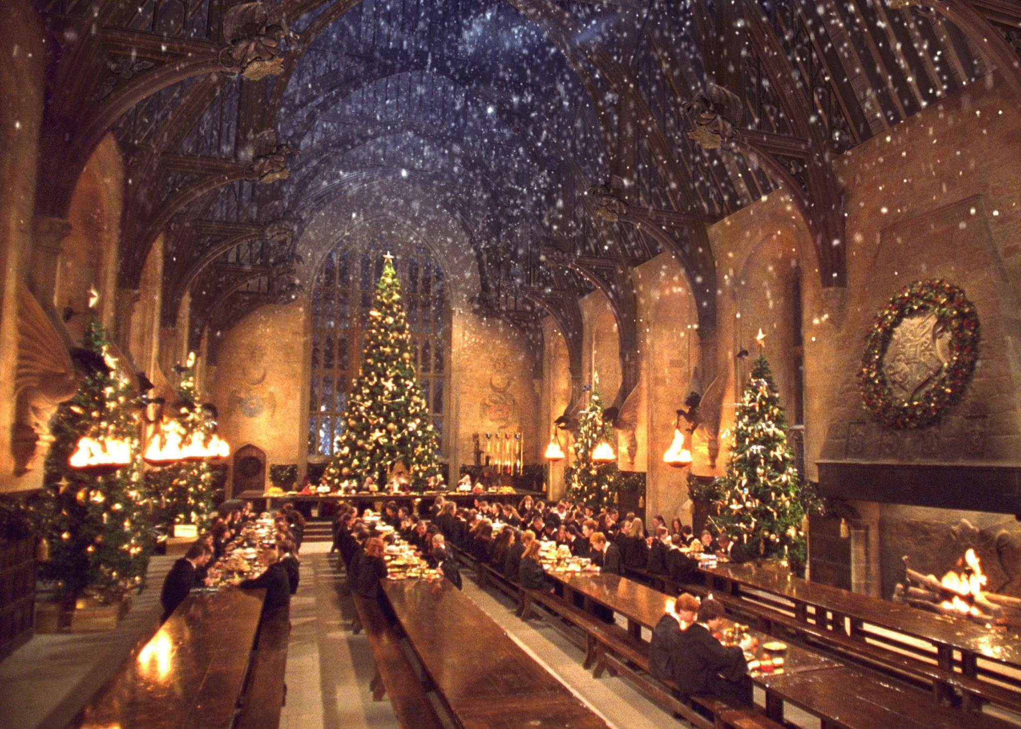 Image result for hogwarts christmas