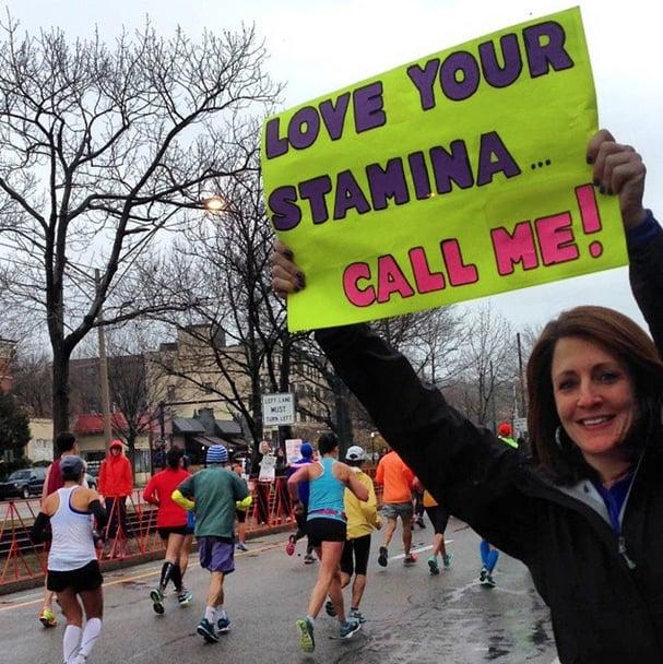 Best Boston Marathon Signs   2015