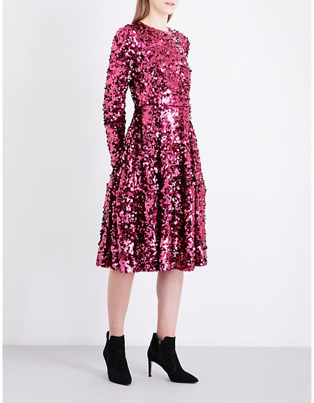 LK Bennett x Preen Sonic Sequin Dress