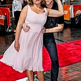 Jenna Bush Hager and Willie Geist as Baby and Johnny From Dirty Dancing