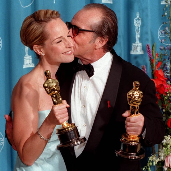 Pictures of Stars Kissing Their Oscar Statues
