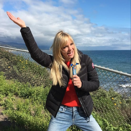 Anna Faris on Hiking