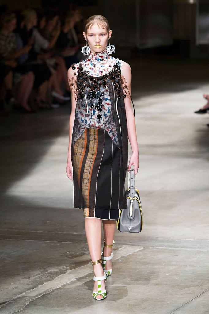 a0a093137783 Prada Spring Summer 2016 Collection Runway Show | POPSUGAR Fashion ...