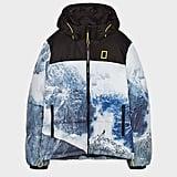 Bershka x National Geographic Puffer Jacket