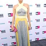 Diane Kruger hit the red carpet in a provocative Prada dress.