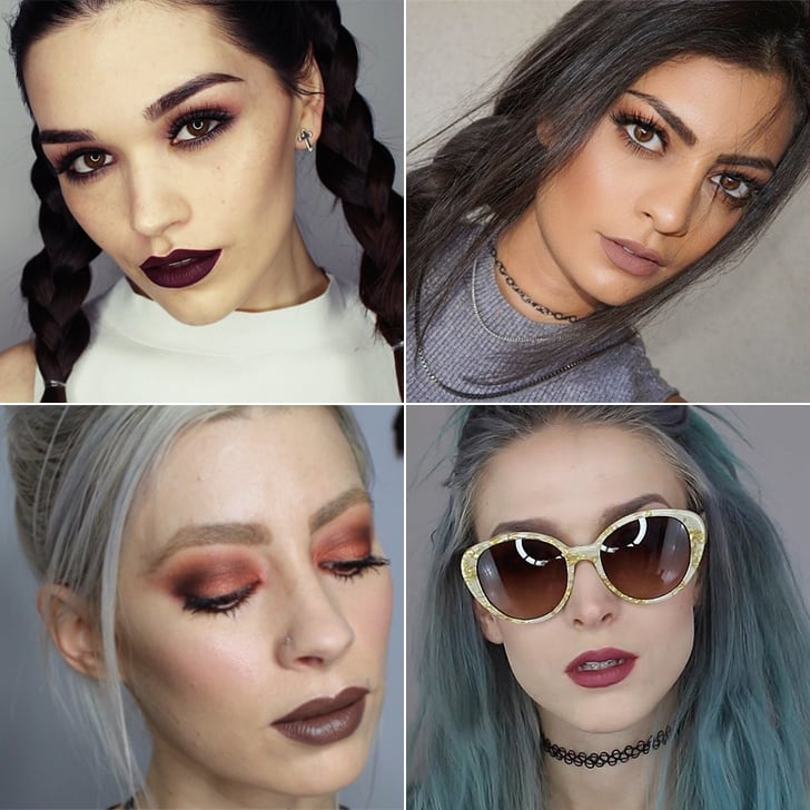 Grunge Makeup Tutorials Popsugar Beauty