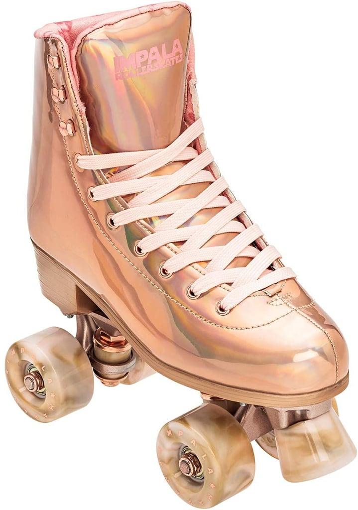 Impala Rose Gold Rollerskates