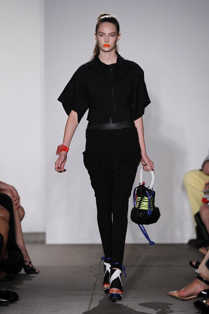 Ohne Titel's Floral Gill and Alexa Adams Are Feeling Alaia-Like Knit Skirts and Neoprene Tops for Spring 2011