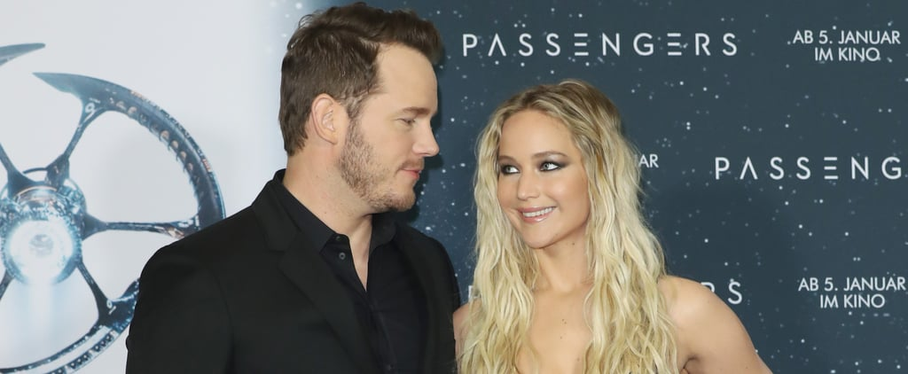 Chris Pratt and Jennifer Lawrence Can't Stop Cracking Each Other Up on the Passengers Press Tour