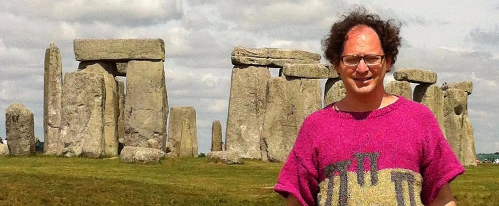This International Hero Knits Sweaters of Places, Visits Those Places Wearing Them