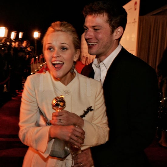 Reese Witherspoon had her husband Ryan Phillippe by her side when she won best actress for Walk the Line in 2006.