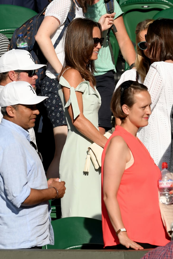 Pippa Middleton Might Have Found a New It Shade With Her Wimbledon Dress