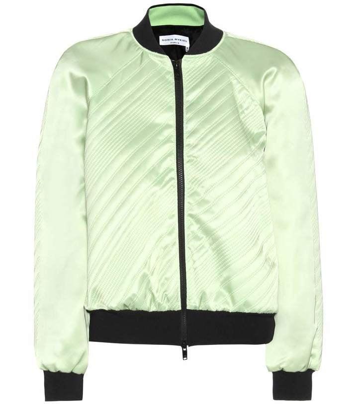 Sonia Rykiel Satin Bomber Jacket ($1,150)