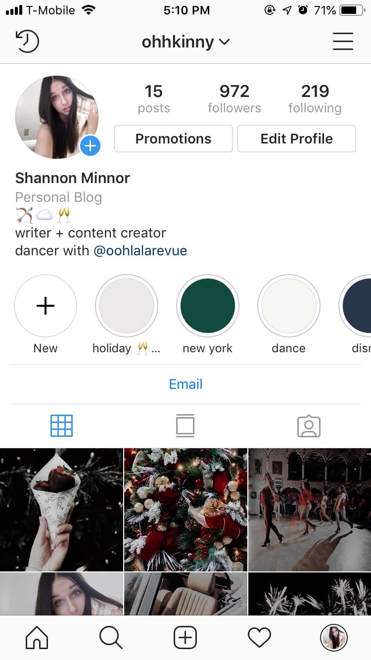 Begin By Going To Your Instagram Profile Turn Your Photos