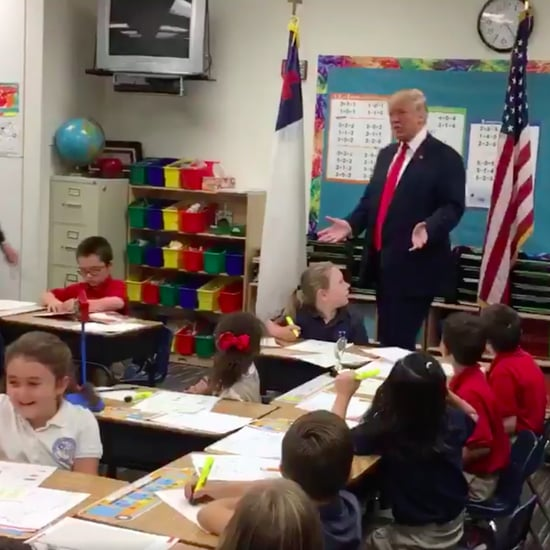Donald Trump Makes First-Graders Nervous