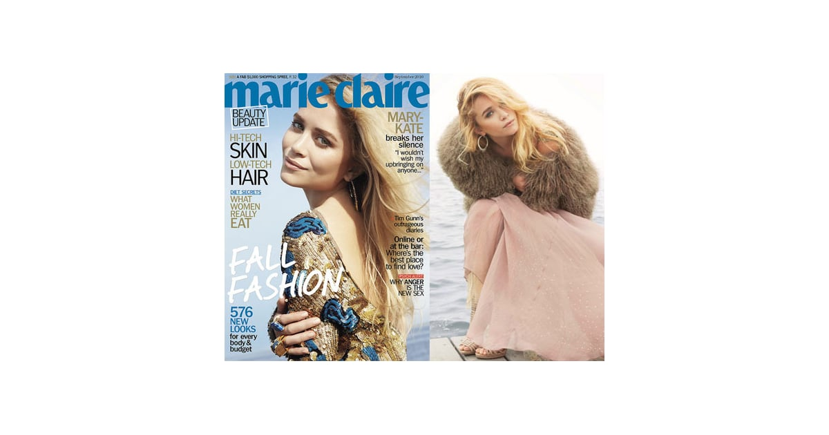 Mary-Kate Olsen Starred in Three Covers for Marie Claire