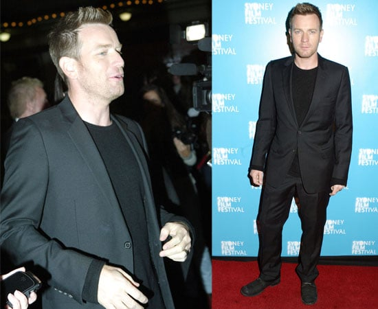 Pictures of Ewan McGregor at the Sydney Film Festival Premiere of The Ghost Writer