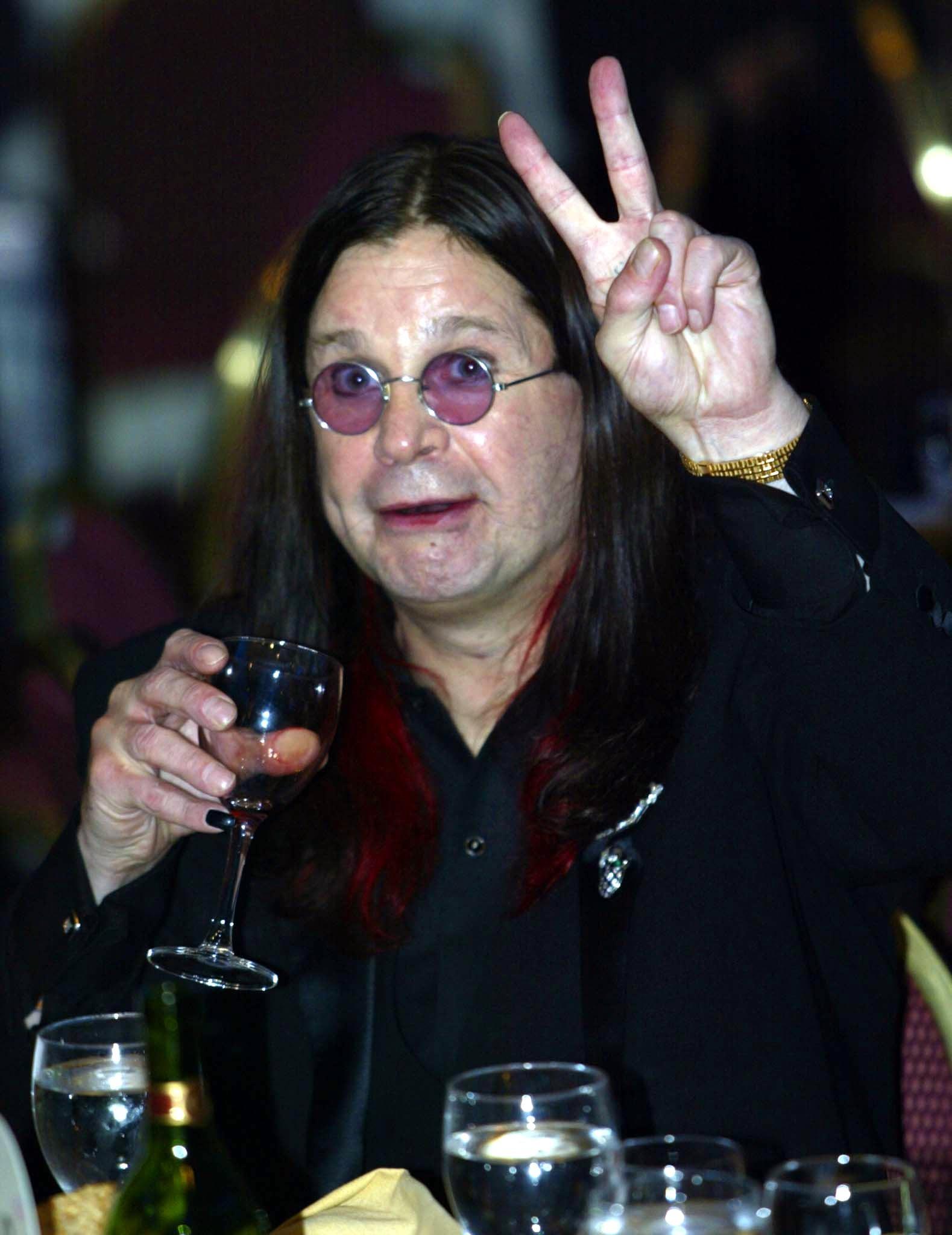 No. 7: Ozzy Osbourne in 2002