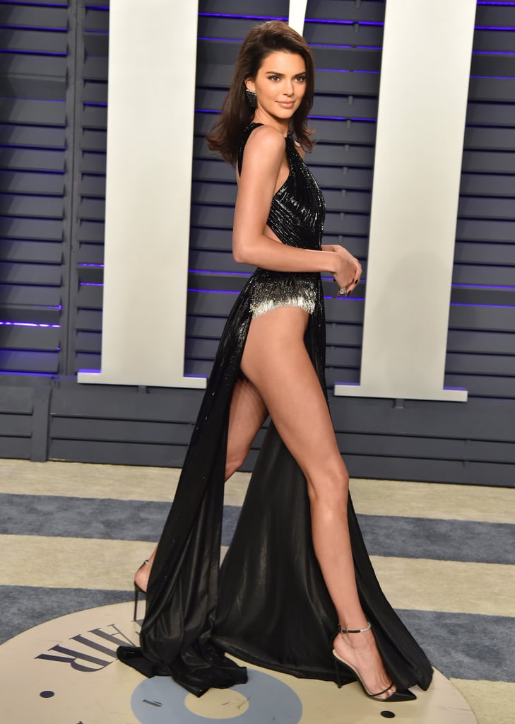 The Kardashian-Jenner clan loves to flaunt their sexy figures, but this year Kendall Jenner is giving her sisters a run for their money. Lately, the 23-year-old model has been heating up social media with her racy lingerie and the red carpet with her leggy mini dresses. And don't even get us started on her barely there Rami Kadi gown at the Vanity Fair Oscars party. Whew! Grab a cold glass of water as you look through some of her steamiest moments from 2019 — so far!       Related:                                                                                                           110 Times Kendall Jenner Was the Sexiest Person Within a 100-Mile Radius