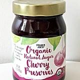 Organic Reduced Sugar Cherry Preserves ($3)