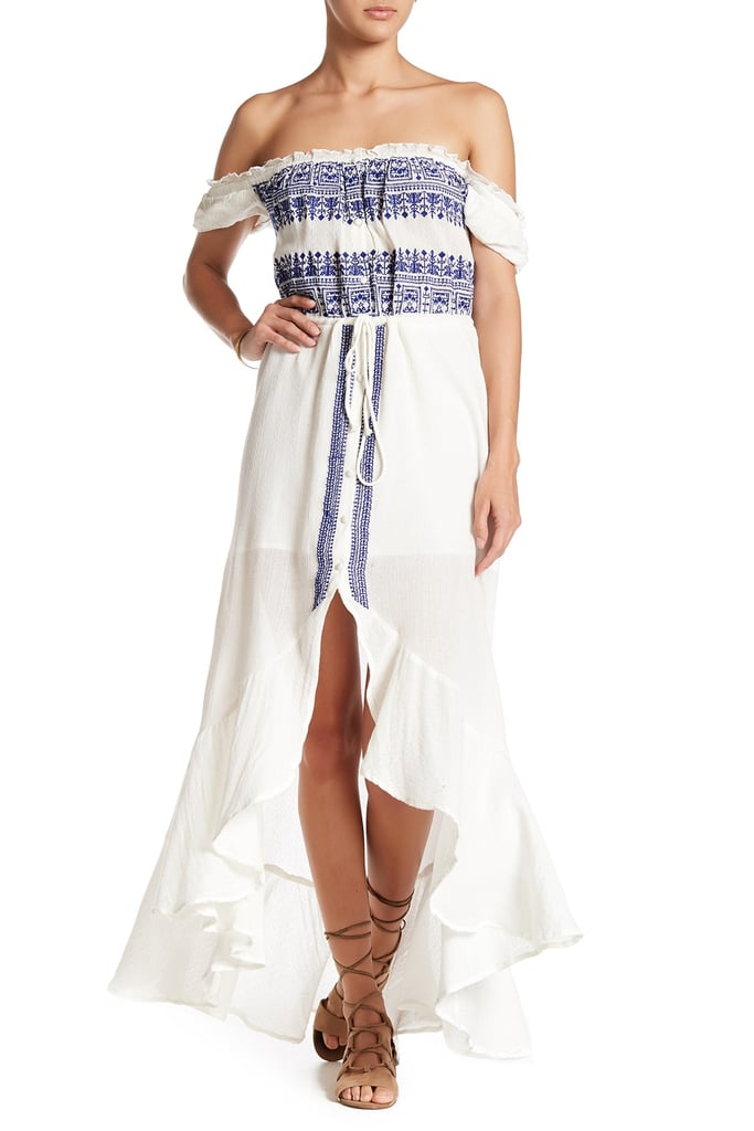 Gypsy 05 Off-the-Shoulder Embroidered Dress